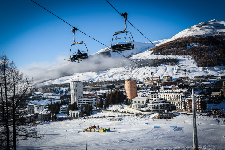 Sestriere and the Via Lattea, where to go skiing