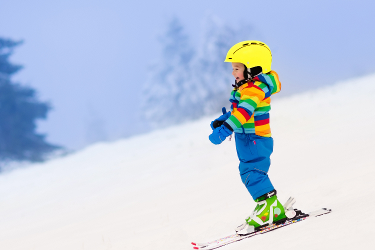 Skiing with children: where to go