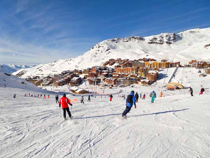 Ski courses in Val Thorens