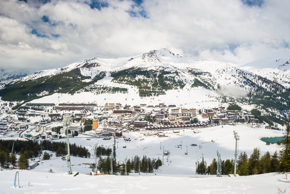 Panoramic view of Sestriere