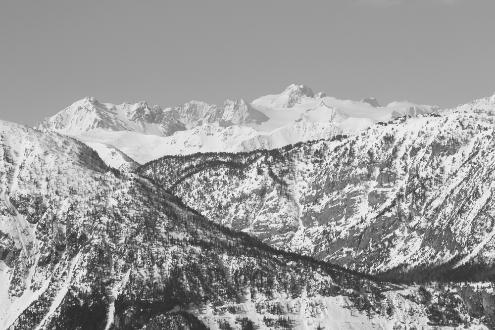 View of the Val di Susa (Bardonecchia)