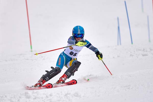 ski race for children